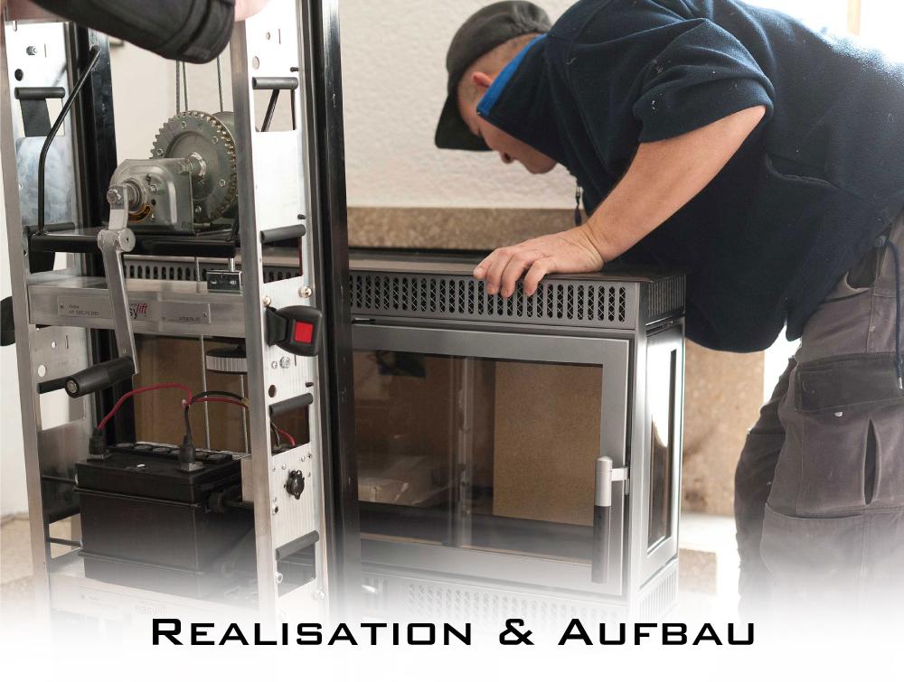 Fire4You Leistungen Realisation & Aufbau